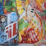 Presumption of innocence, 100x100 cm, Acryl auf Leinwand, 2011_1