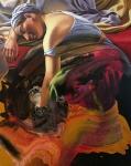 Dream on Syd 100 x 80 cm, Öl, Mischtechnik auf Leinen, 2021