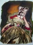 Aquarell auf Bütten, 76 x 56cm, 2020