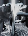 Vergessene Stunden, 180 x 140 cm, Öl auf Leinwand, 2015