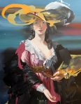 Elisabeth, 180 x 140 cm, Öl auf Leinwand, 2016