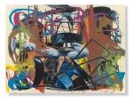 La Danse, 150 x 200 cm, Öl auf Leinwand, 2015