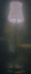 """""""Heimleuchten 3"""" Öl, Pigment, Lack  auf Leinwand, 2014, 180 x 60 cm"""