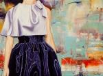 Dior, 2020, Öl auf Leinwand, 60x80 cm