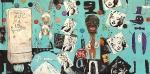 History of Pop, 2019, Mischtechnik auf Leinwand, 200x400 cm