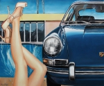 """California Legs"" Öl, auf Leinwand, 2013, 100 x 120 cm"
