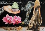 """Spirit of Ecstasy"" Öl, auf Leinwand, 2011, 140 x 200 cm"