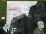 Black Shore Line, 137 x 184 cm, Oil, on Canvas, 2008,