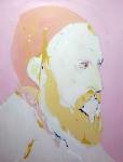The Master , 200 x 150 cm, Acryl/Lack auf Leinwand, 2019