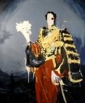Big Prince , 240 x 200 cm, Acryl/Lack auf Leinwand, 2019