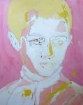 White boy 3, 200 x 165 cm,  Acryl/Lack auf Leinwand, 2019