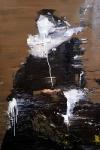 Frans Hals Interpretation, 145 x 95 cm,  Acryl/Lack auf Leinwand, 2019