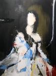 Ghost portrait 6, 125 x 95 cm,  Acryl/Lack auf Leinwand, 2019