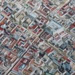 Stadtbild11_VIII_Cadiz_18     200x200 cm, Öl auf Leinwand, 2018